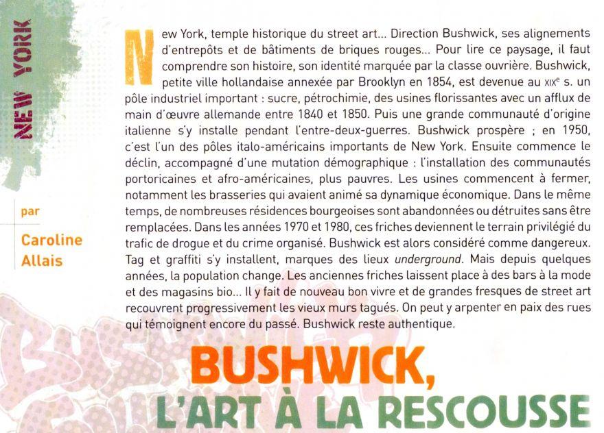 article street art magazine numéro 6