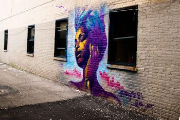 Photographies street-art par Caroline Allais